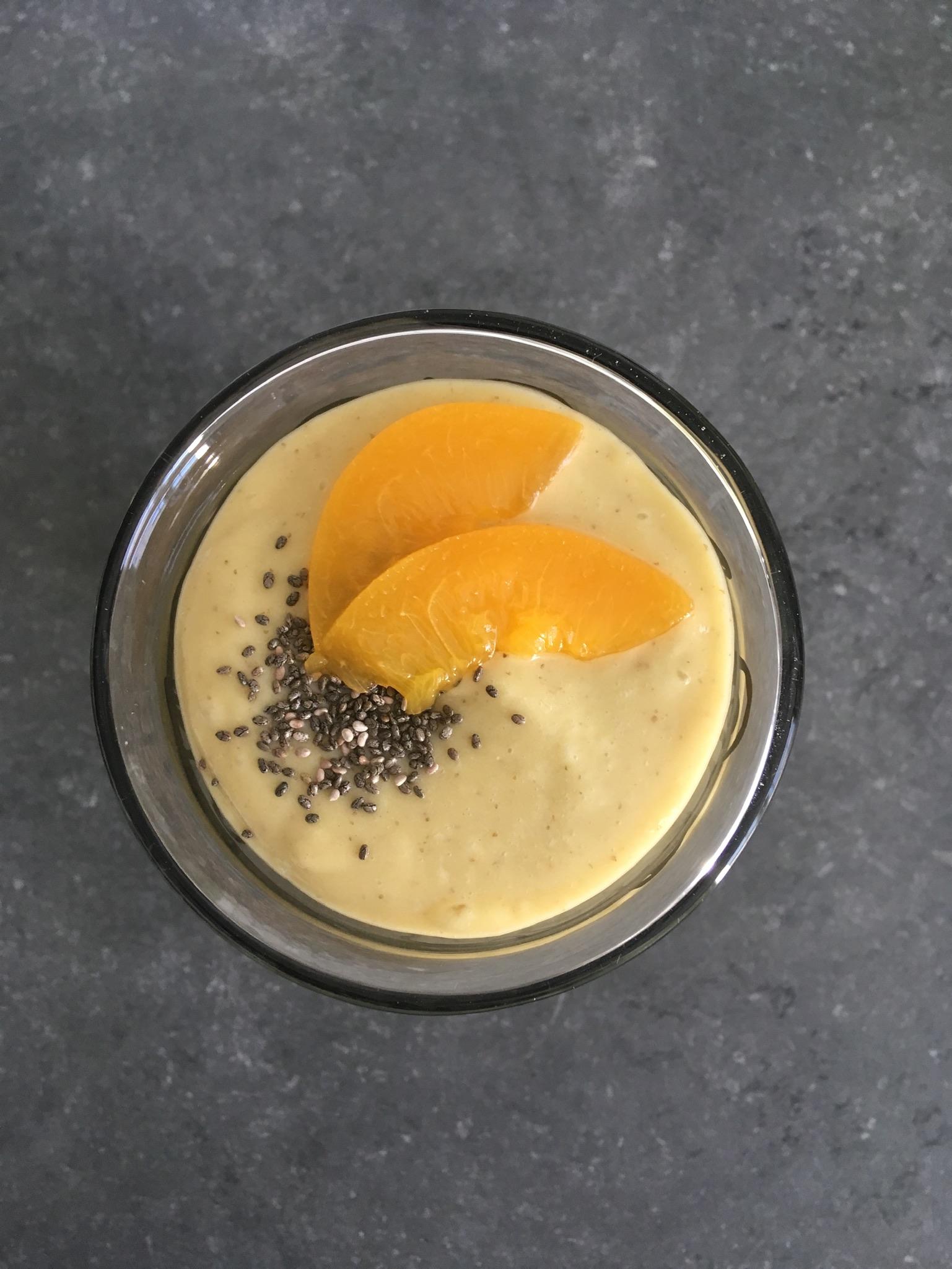 Smoothie mangue et coco