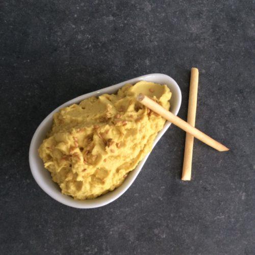 Houmous au curry